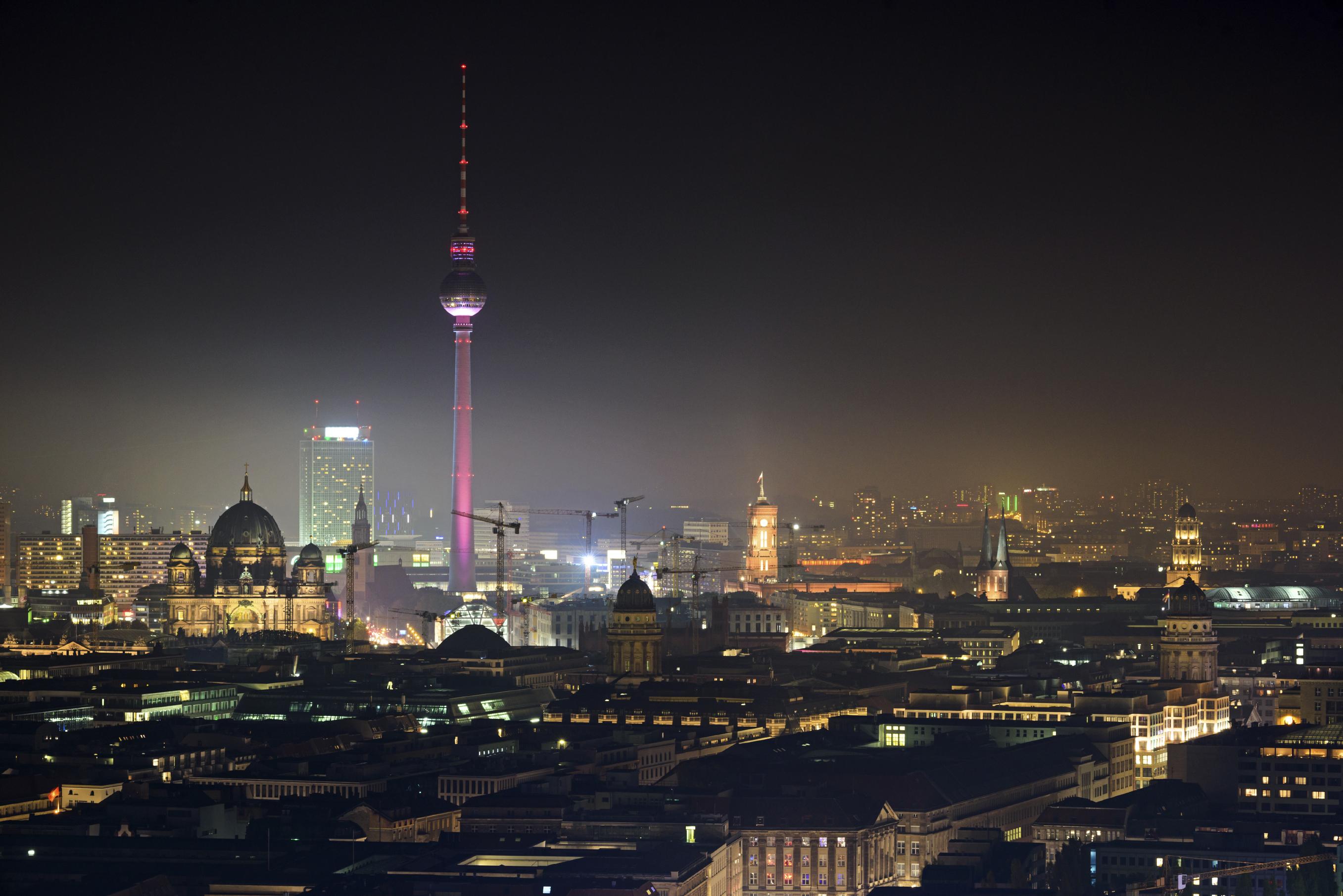 Schöne Urlaubsziele= Berlin in Deutschland
