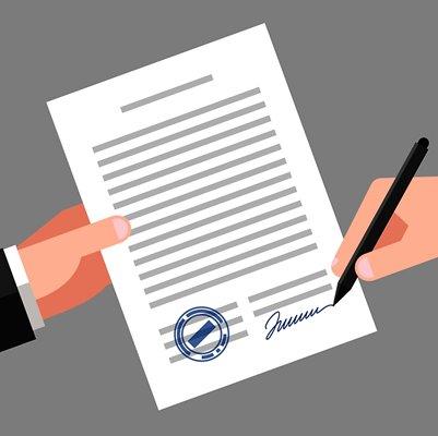 Vereinbarung über die Probefahrt