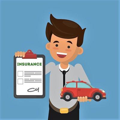 Meldeformular für die KFZ-Zulassungsstelle und die Versicherung