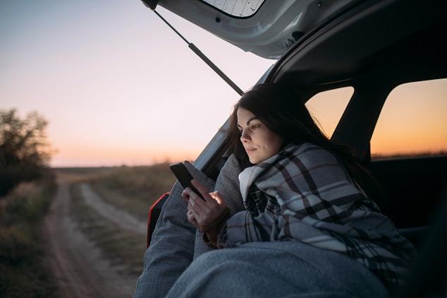Beliebte Gegenstände im Auto: Decke
