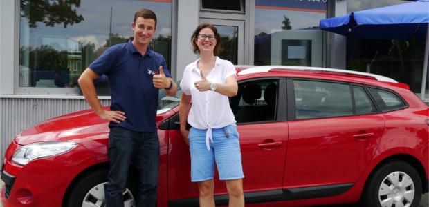 Kundin verkauft Auto