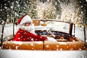 Fahren an Weihnachten