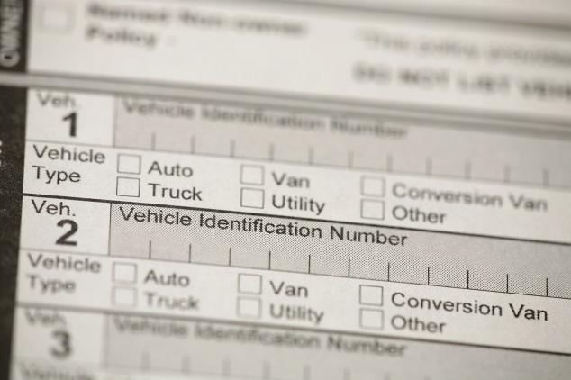 Fahrzeug-Identifizierungsnummer online prüfen