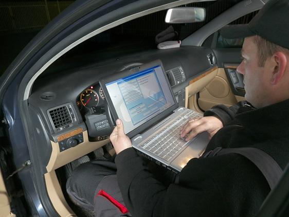 Fahrzeug-Identifizierungsnummer: Fehlerdiagnose in der Werkstatt