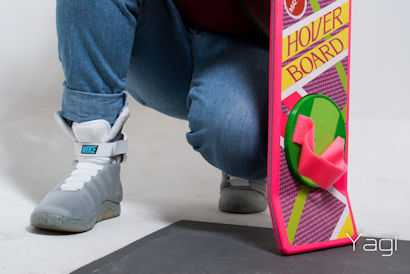 Nikes & Hoverboard