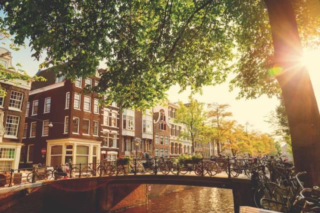 Schöne Urlaubsziele: Amsterdam in den Niederlanden