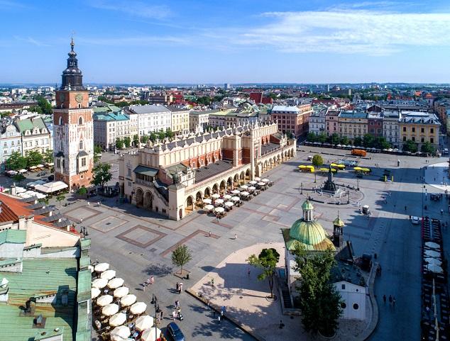 Schöne Urlaubsziele: Krakau in Polen