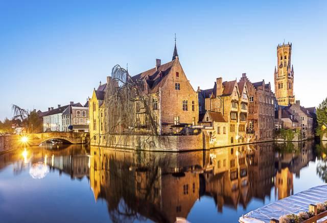 Schöne Urlaubsziele: Brügge in Belgien