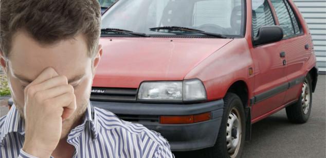 Stress mit dem Auto