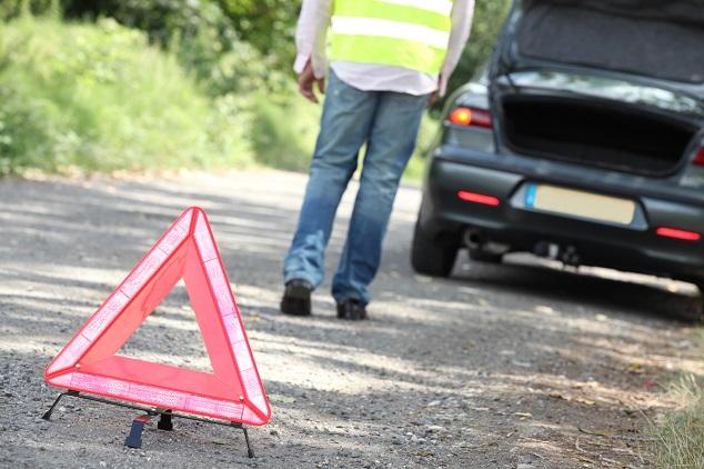 Verhalten bei Unfall: Unfallstelle absichern