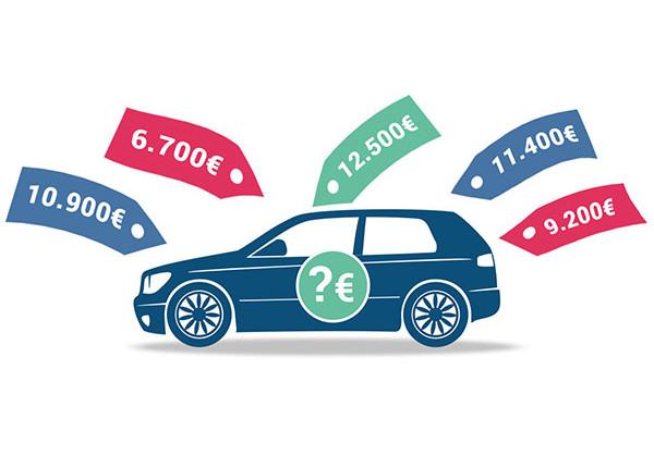 Wir ermitteln akkurat den Autowert